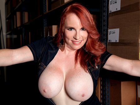 Red Vixen - Solo Big Tits video