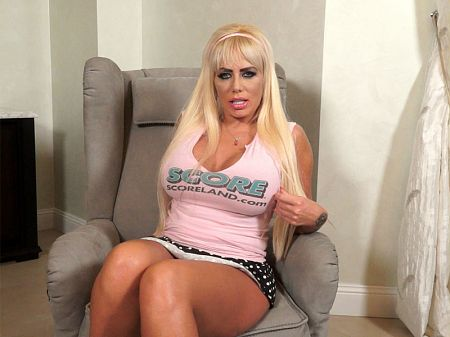 Tia Clegg - Interview Big Tits video