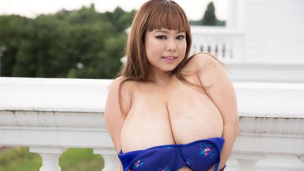 P-Chan Short 'n' Stacked Japanese Idol Has Gigantic Tits