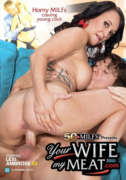 YOUR WIFE MY MEAT.COM DVD cover image